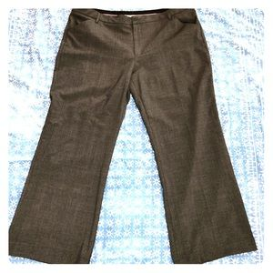 Gap Charcoal Gray Perfect Trousers